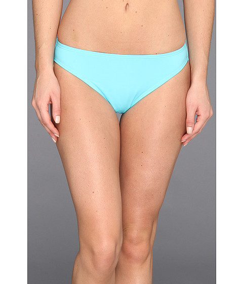 MICHAEL Michael Kors - Linked Solids Classic Bottom (Turquoise) Women's Swimwear