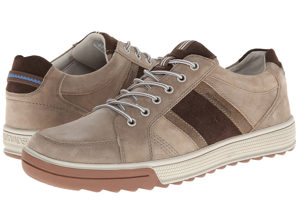 Allrounder by Mephisto - Tamaro (Taupe Oiled Nubuck/Dark Brown Suede) Men's Lace up casual Shoes