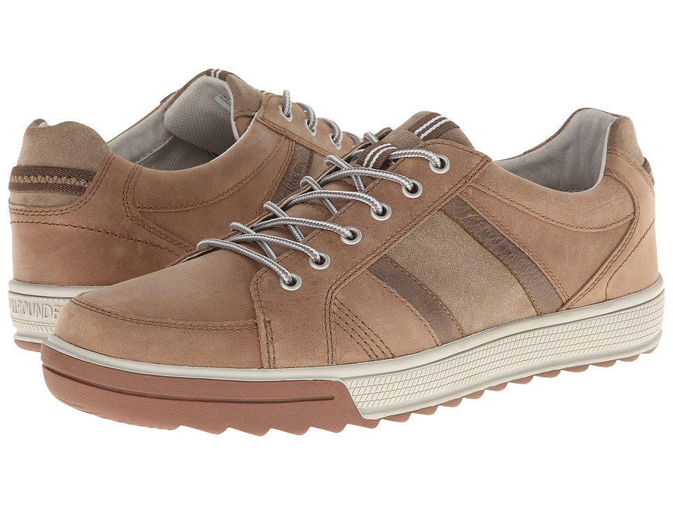 Allrounder by Mephisto - Tamaro (Sand Oiled Nubuck/Taupe Suede) Men's Lace up casual Shoes