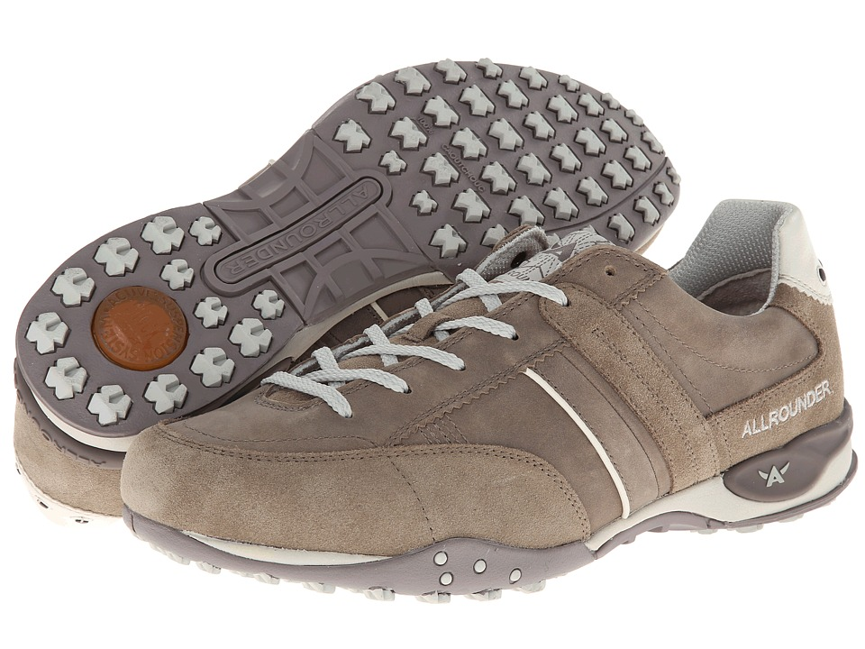 Allrounder by Mephisto Taran (Taupe Suede/Oiled Nubuck) Men
