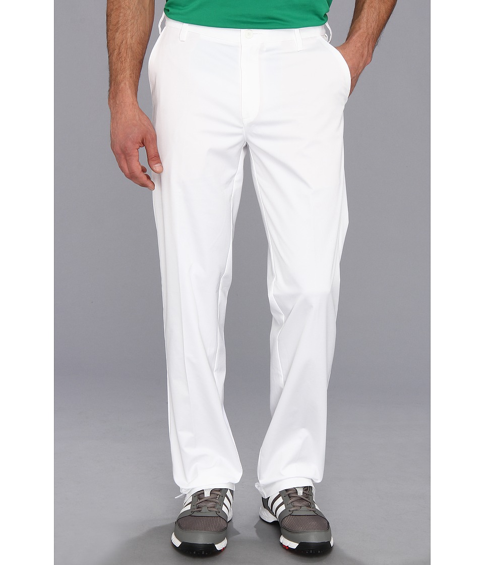 adidas Golf - Flat Front Tech Pant '16 (White) Men's Casual Pants