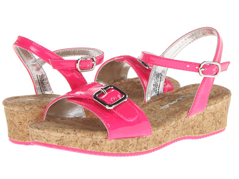 Nina Kids - Yuki-2 (Toddler/Little Kid/Big Kid) (Neon Pink Patent) Girls Shoes