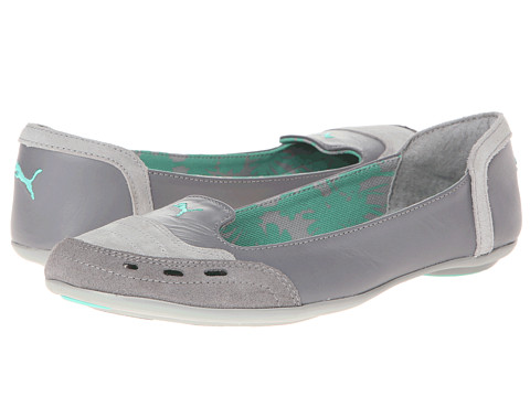 PUMA - RS Ballet (Glacier Gray/Steel Gray/Electric Green) Women
