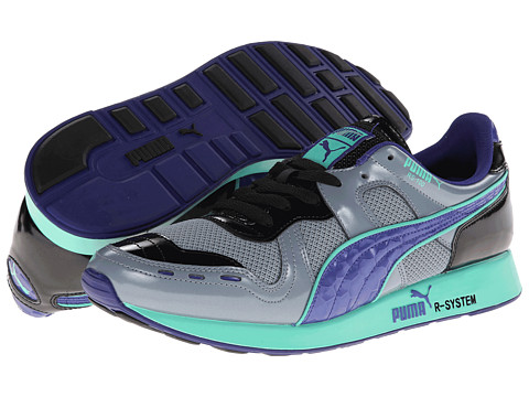 PUMA - RS100 (Tradewinds/Black/Spectrum Blue) Men
