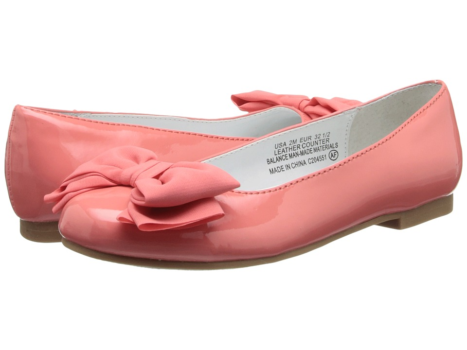 Nina Kids - Danica (Little Kid/Big Kid) (Coral Patent) Girls Shoes