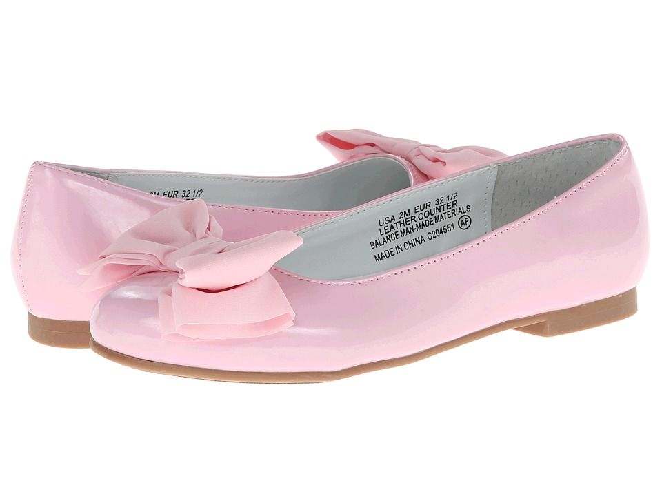 Nina Kids - Danica (Little Kid/Big Kid) (Pink Patent) Girls Shoes