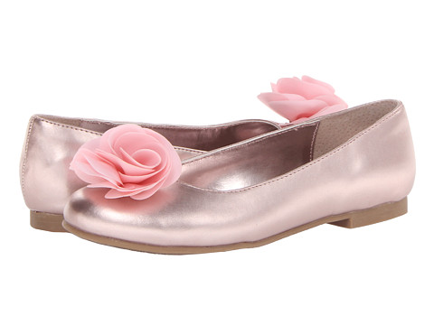 Nina Kids - Delta (Little Kid/Big Kid) (Light Pink Metallic) Girls Shoes