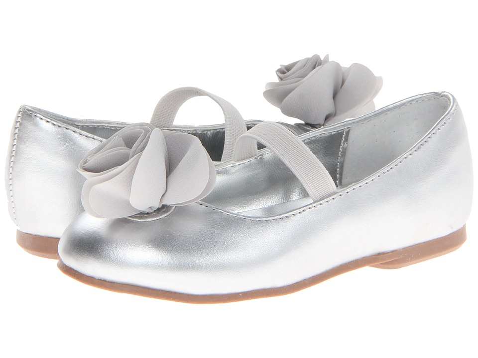 Nina Kids - Delta-T (Toddler/Little Kid) (Silver Metallic) Girls Shoes