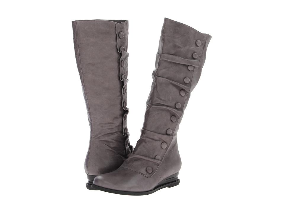 Miz Mooz - Bloom Wide Calf (Stone) Women's Zip Boots