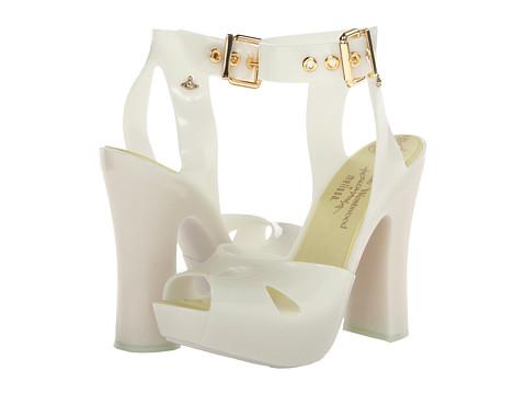 Vivienne Westwood - Anglomania + Melissa Slave Sandal (Flurosent) Women's Shoes