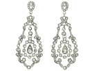 Nina E-Beryl Earrings (Silver)