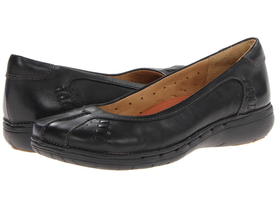 Clarks - Un.Rosily (Black) Women's Shoes