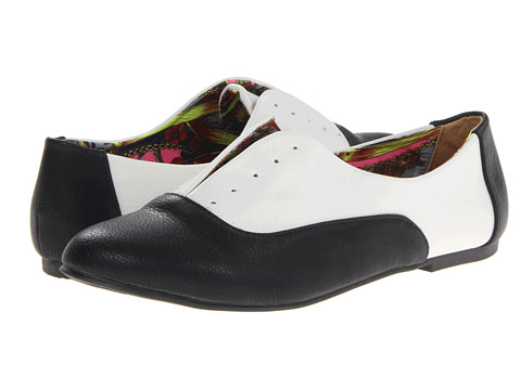 Dirty Laundry - Off The Wall (Black/White) Women's Shoes