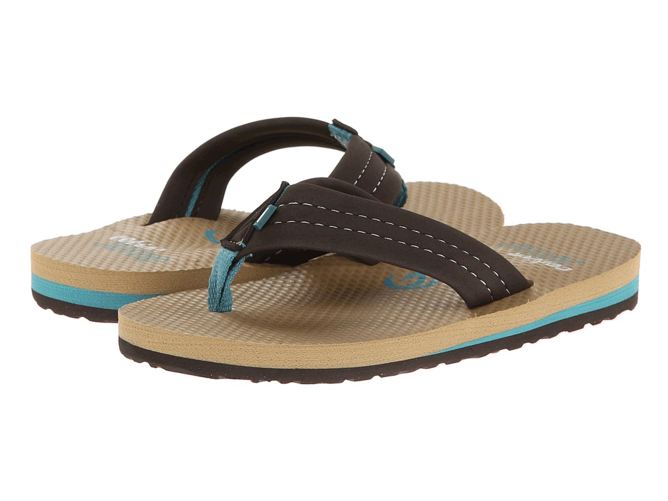 Cobian - Aqua Jump Jr. (Toddler/Little Kid/Big Kid) (Chocolate) Men's Sandals