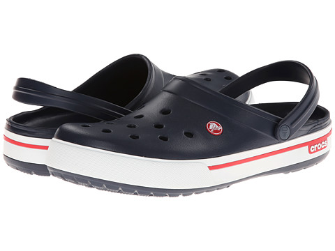 Crocs - Crocband II.5 Clog (Navy/Red) Clog Shoes