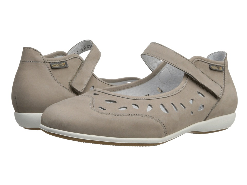 Mephisto - Ava (Warm Grey Bucksoft) Women's Shoes