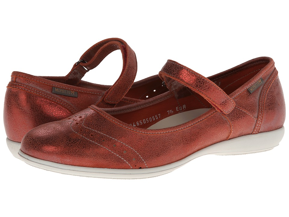 Mephisto - Charlote (Red Old Vintage) Women's Shoes