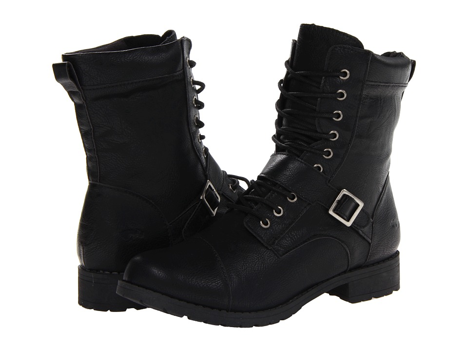Rocket Dog - Birmingham (Black Denver) Women's Lace-up Boots