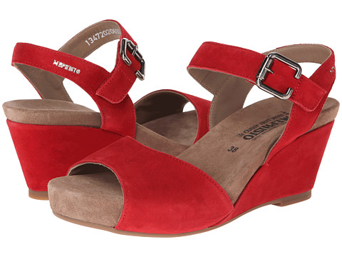 Mephisto - Beauty (Red Velcalf Premium) Women's Hook and Loop Shoes