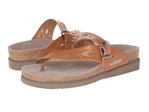 Mephisto Helen Perf (Hazelnut Waxy) Women's Sandals