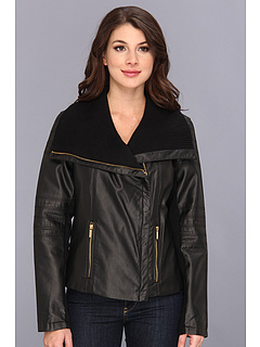 SALE! $44.99 - Save $115 on Calvin Klein Moto Jacket (Black) Apparel - 71.79% OFF $159.50