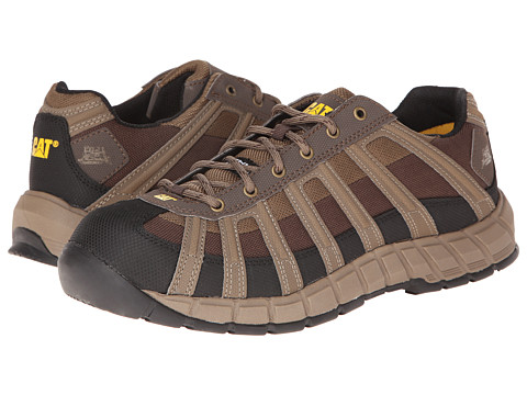 Caterpillar - Switch Steel Toe (Worn Brown/Demitasse) Men