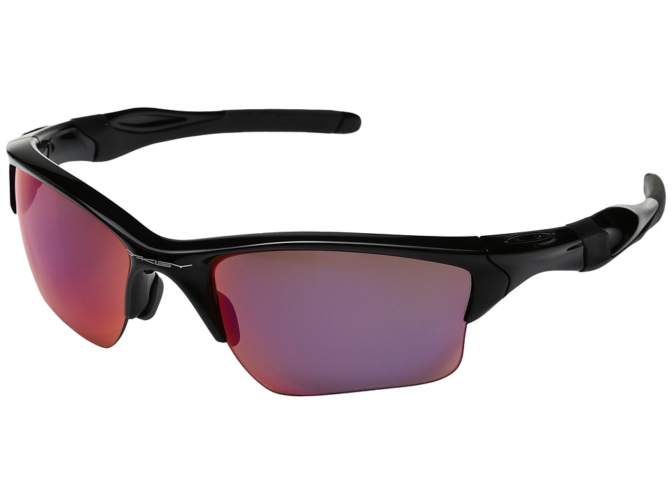 Oakley - Half Jacket 2.0 XL (Polished Black w/OO Red Iridium Polarized) Plastic Frame Sport Sunglasses