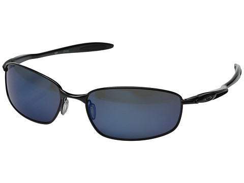 Oakley - Blender (Polished Black w/Ice Iridium Polarized) Athletic Performance Sport Sunglasses