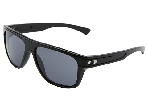 Oakley - Breadbox (Polished Black W/Grey) Sport Sunglasses