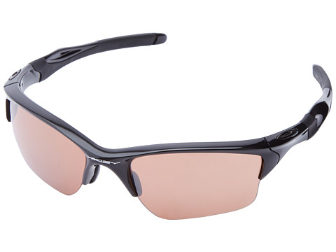 Oakley - Half Jacket 2.0 XL (Polished Black w/VR28 Black Iridium) Plastic Frame Sport Sunglasses