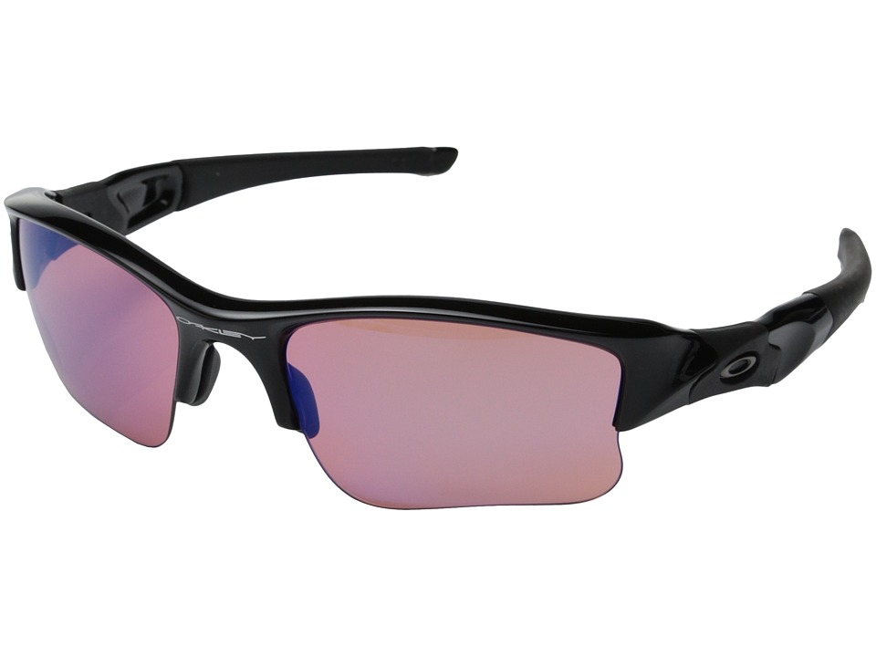 Oakley - Flak Jacket XLJ (Polished Black w/G30 Iridium) Sport Sunglasses