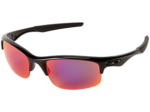 Oakley - Bottle Rocket (Polished Black w/OO Red Iridium Polarized) Sport Sunglasses