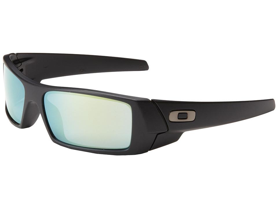 Oakley - GasCan (Matte Black w/Emerald Iridium) Sport Sunglasses