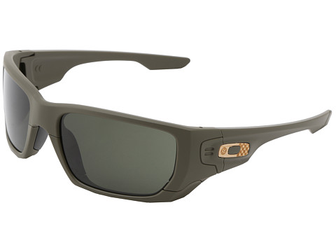 Oakley - Style Switch (Matte Green w/Dark Grey and VR50) Plastic Frame Sport Sunglasses