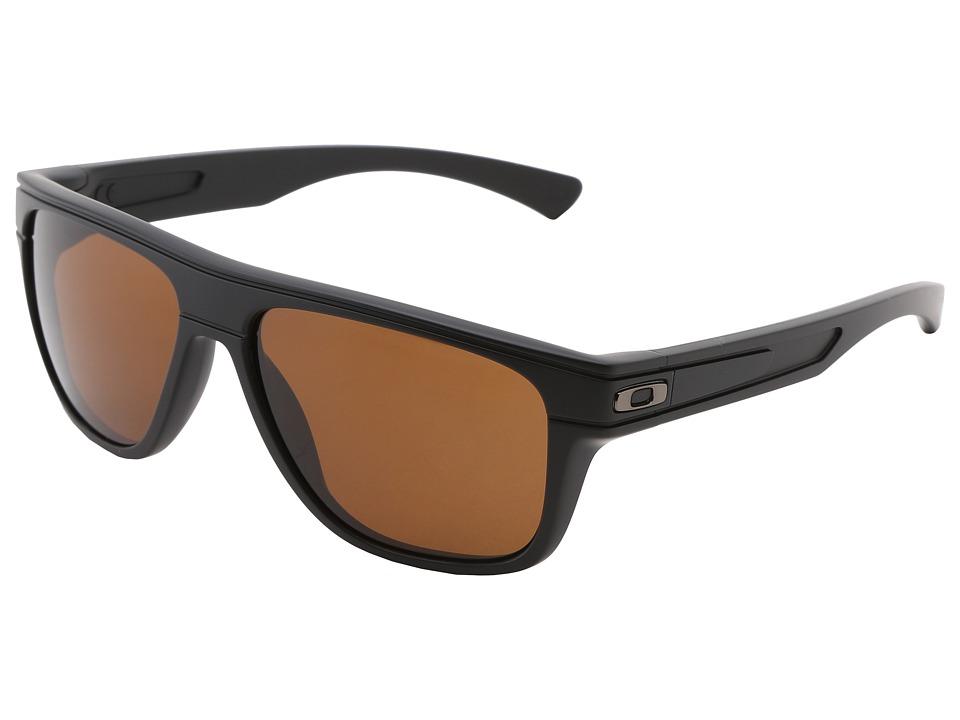 Oakley - Breadbox (Matte Black w/Dark Bronze) Sport Sunglasses