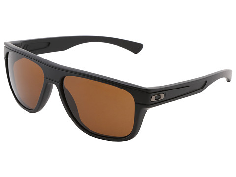 Oakley - Breadbox (Matte Black w/Dark Bronze) Sport Sunglasses
