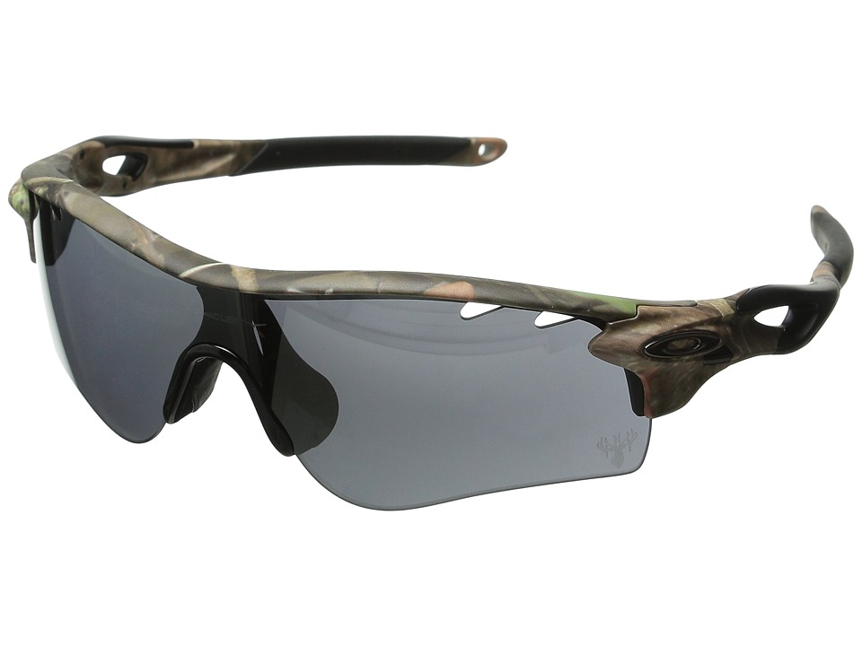 Oakley - Radarlock (Woodland w/Black Iridium and G30) Polarized Sport Sunglasses