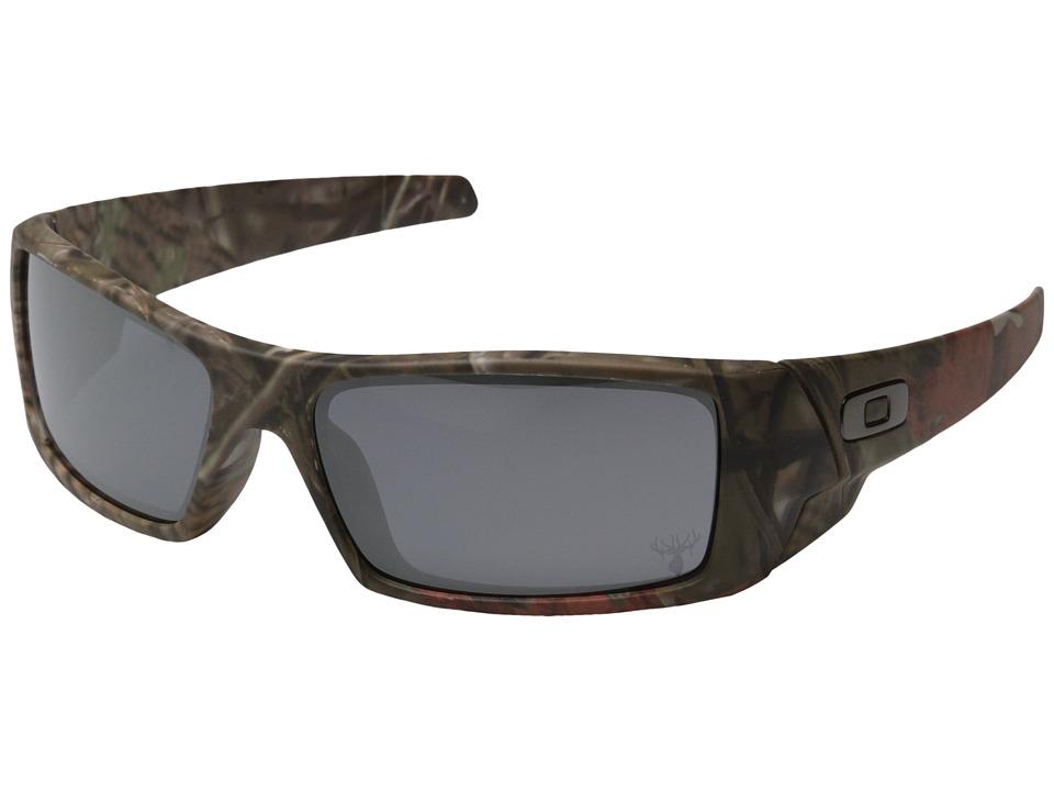 Oakley - GasCan (Woodland Camo w/Black Iridium) Sport Sunglasses