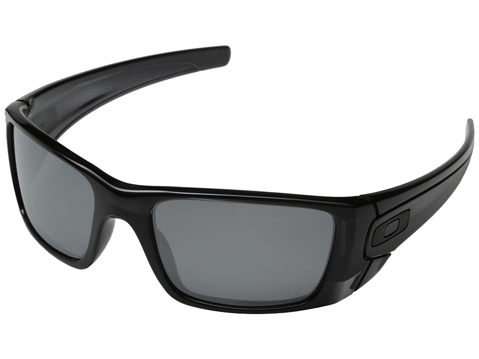 Oakley - Fuel Cell (Polished Black Ink w/Black Iridium Polarized) Polarized Sport Sunglasses