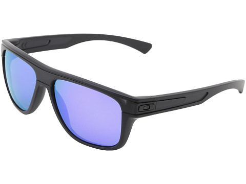 Oakley - Breadbox (Matte Black Ink w/Violet Iridium) Sport Sunglasses