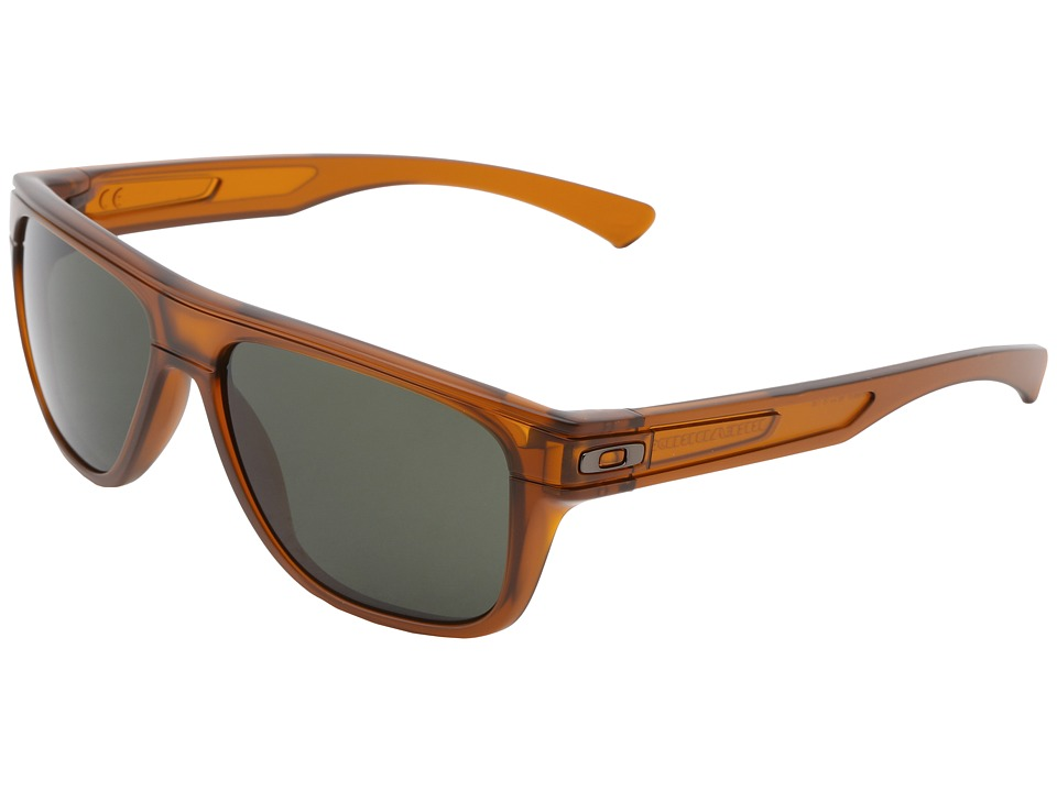 Oakley - Breadbox (Dark Amber w/Dark Grey) Sport Sunglasses