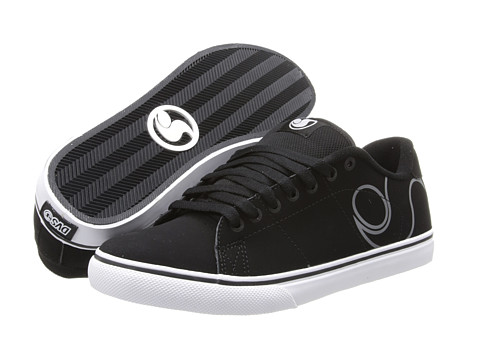 DVS Shoe Company - Gavin CT (Black Nubuck/Logo Outline) Men's Skate Shoes