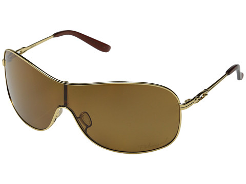 Oakley - Collected Polarized (Polished Gold w/Bronze Polarized) Sport Sunglasses