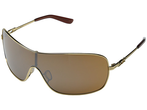 Oakley - Distress (Polished Gold W/Vr50 Brown Gradient) Sport Sunglasses