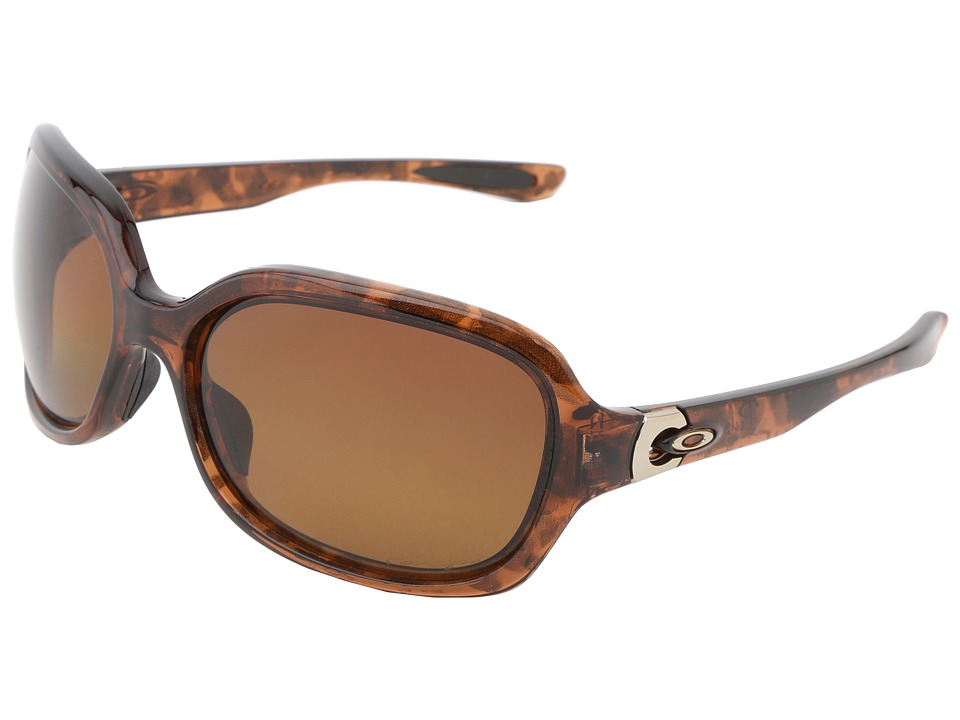 Oakley - Pulse (Tortoise w/Brown Gradient Polarized) Sport Sunglasses