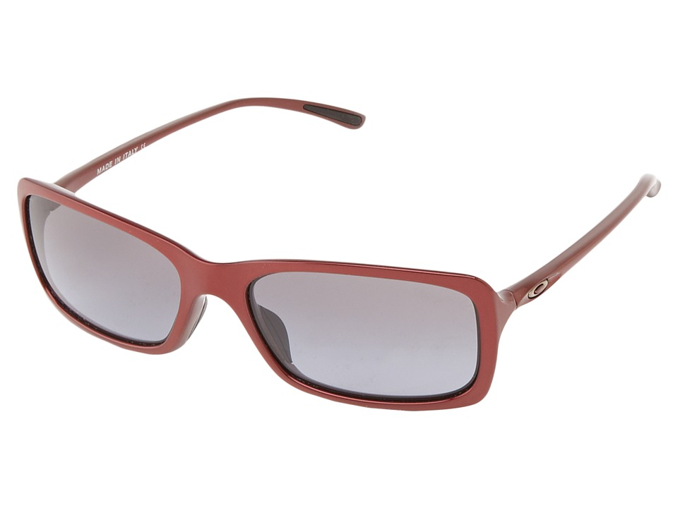 Oakley - Hall Pass (Scarlet w/Black Grey Gradient) Sport Sunglasses