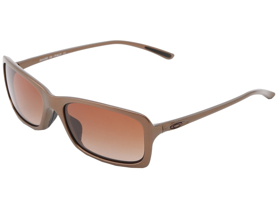 Oakley - Hall Pass (Mink w/Dark Brown Gradient) Sport Sunglasses
