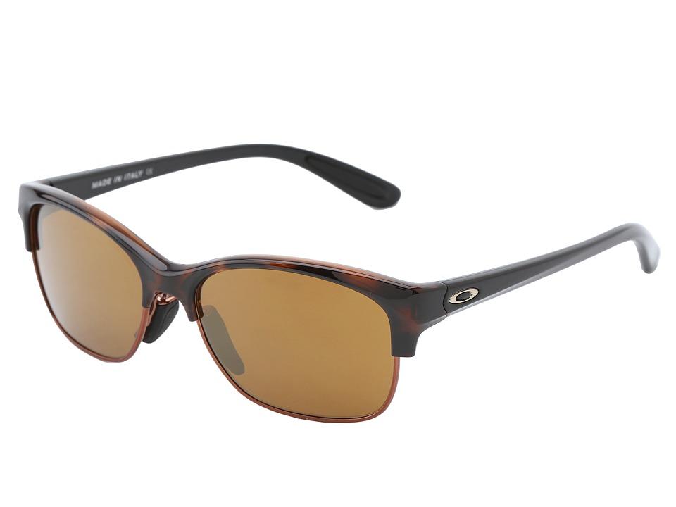 Oakley - RSVP (Toroise Black w/Gold Iridium) Sport Sunglasses