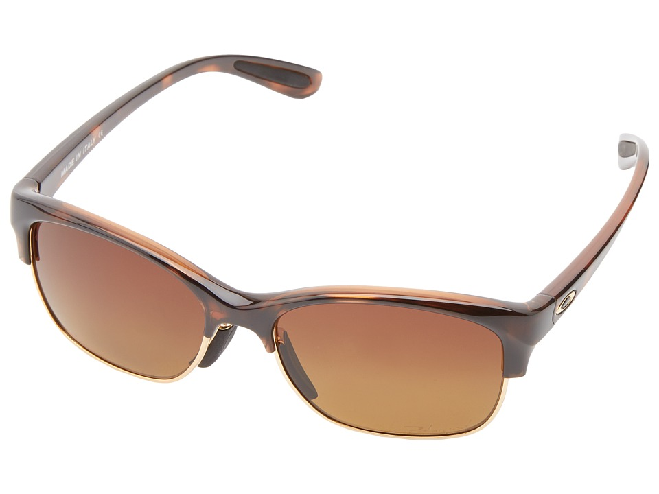Oakley - RSVP (Tortoise w/Brown Gradient Polarized) Sport Sunglasses