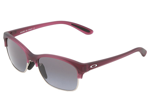 Oakley - RSVP (Pink Tulip w/Black Grey Gradient) Sport Sunglasses